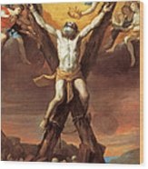 The Crucifixion Of St Andrew Wood Print