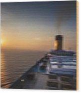 The Cruise Wood Print