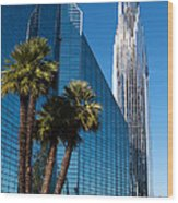 The Crystal Cathedral  Wood Print