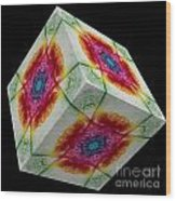 The Cube 10 Wood Print