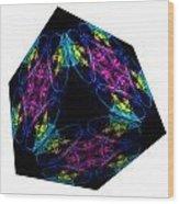 The Cube 13 Wood Print