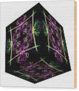 The Cube 14 Wood Print