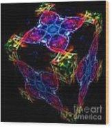 The Cube 4 Wood Print