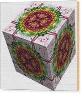 The Cube 5 Wood Print