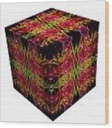The Cube 8 Wood Print