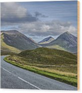 The Cuillin Mountains Of Skye 2 Wood Print