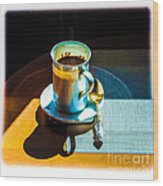 The Cup Of Black Coffee 1 Wood Print