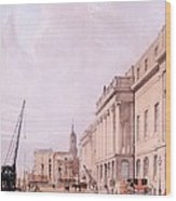 The Custom House, From London Wood Print