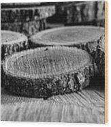 The Cuttings II Wood Print