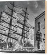 The Cutty Sark And Gipsy Moth Pub Greenwich Wood Print