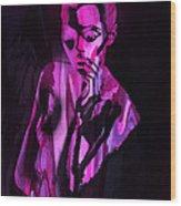 The Cyber Woman Wood Print