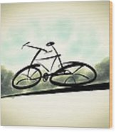 The Cycle - A Sketch Wood Print
