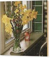The Daffodils Wood Print