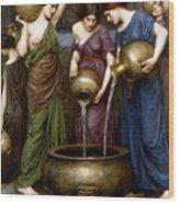 The Danaides Wood Print