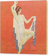 The Dance 1929 1920s Usa Nitza Vernille Wood Print by The Advertising Archives