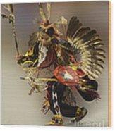 Pow Wow The Dance Wood Print
