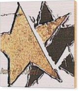 The Dance Of The Stars Wood Print