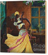 The Dancer Act 1 Wood Print