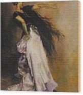 The Dancer Wood Print by Diane Kraudelt