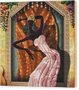 The Dancer V1 Wood Print