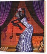 The Dancer V2 Wood Print