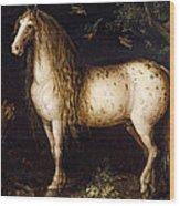 The Dapple-grey Wood Print