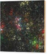 The Dark Side Of Monet Wood Print by Peter R Nicholls