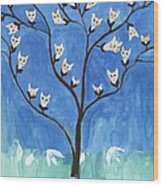 The Darling Buds Of February Wood Print