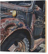 The Darlins Truck Wood Print