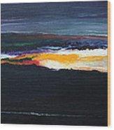 The Dawn Of Creation Wood Print
