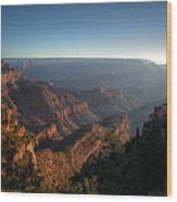 The Day Begins Grand Canyon Wood Print