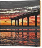 The Day Has Arrived  Wood Print