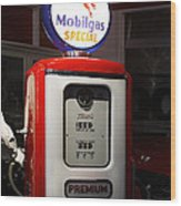 The Days Of Inexpensive Gas Wood Print