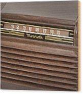 The Days Of Radio Wood Print