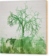 The Dead Tree Wood Print