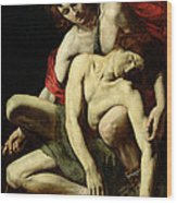 The Death Of Hyacinthus  Wood Print