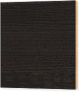 The Declaration Of Independence In Negative Brown Wood Print