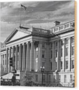 The Department Of Treasury Wood Print