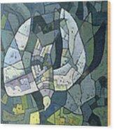 The Descending Dove Libra, 1966 Wood Print