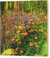 The Desert Abloom Wood Print