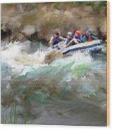 The Deshka River Alaska Wood Print