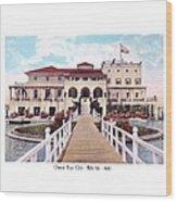 The Detroit Boat Club - Belle Isle - 1910 Wood Print