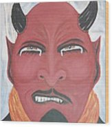 The Devil Is The Detail Wood Print