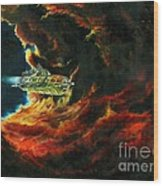 The Devil's Lair Wood Print