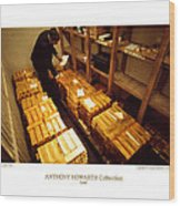 Anthony Howarth Collection - Gold- The Diligent Clerk Wood Print