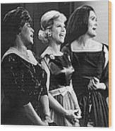 The Dinah Shore Chevy Show Wood Print