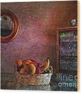 The Dining Room Wood Print