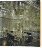 The Dining Room Of Ara Gallant's Apartment Wood Print