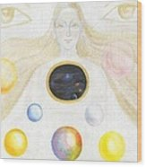 The Discovery Of The Cosmic Spirit Wood Print