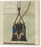 The Diving Bell Wood Print